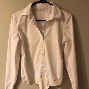 New York and company button down bodysuit